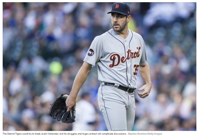 All 30 MLB Teams' Nightmare 2017 Trade Deadline Scenario | Bleacher Report